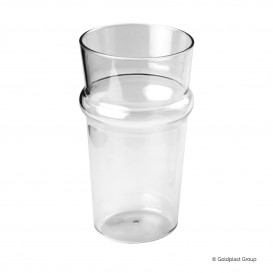 Bicchiere Riutilizzabili SAN Per Birra Trasp. 568ml (1 Pezzi)
