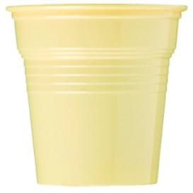 Bicchiere di Plastica PS Crema 80ml Ø5,7cm (1500 Pezzi)