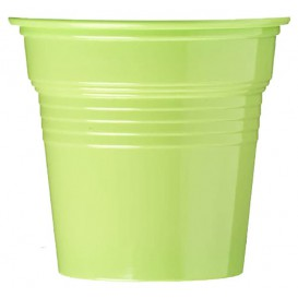Bicchiere di Plastica PS Verde Lime 80ml Ø5,7cm (1500 Pezzi)