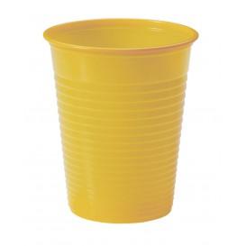 Bicchiere di Plastica PS Mango 200ml Ø7cm (50 Pezzi)