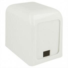 Dispenser Tovaglioli Miniservis Plastica Bianco 17x17cm (1 Pezzi)