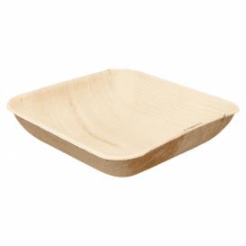 Ciotola di Foglia di Palma 20x20x4cm (200 Pezzi)