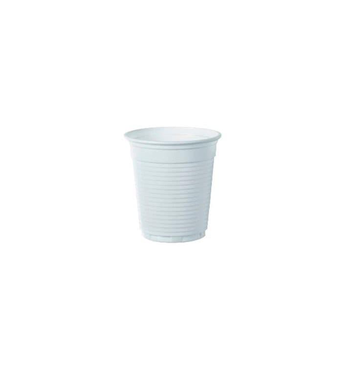 Bicchiere di Plastica PS Vending Bianco 160 ml (3.000 Pezzi)