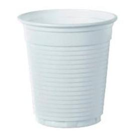 Bicchiere Plastica PS Vending Bianco 160 ml (100 Pezzi)