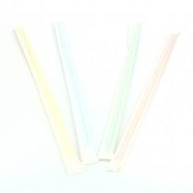 Cannuccia Flessible In bustina di carta Ø5mm 23cm (10000 Pezzi)