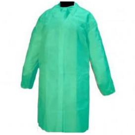 Camice Per Visita in TNT PP Con Velcro Senza Tasche Verde (10 Pezzi)
