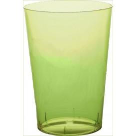 Bicchiere di Plastica Moon Verde Acido Trasp. PS 350ml (400 Pezzi)