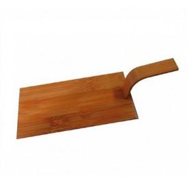 Mini Pala da Bambù Naturale Tapas 10x5 cm (100 Pezzi)
