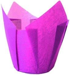 Pirottini Muffin Tulip Ø50x42/72 mm Viola (135 Pezzi)