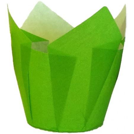 Pirottini Muffin Tulipa Antrigrasso 72 mm Verde (2160 Pezzi)