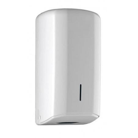 Distributore Carta Igienica Interfogliato Z ABS Bianco (1 Pezzi)