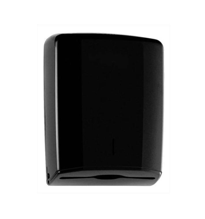 Dispenser Asciugamani ABS Elegance Nero (1 Pezzi)