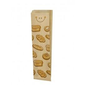"Sacchetto di Carta Kraft ""Panes"" 10+5x51cm (125 Pezzi)"