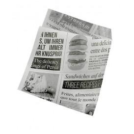 """Sacchetto di Carta Antigrasso """"News"""" 15x16cm (250 Pezzi)"""