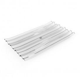 """Piatto Degustazione PS """"Bamboo"""" Transparente 10x6cm (50 Pezzi)"""