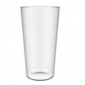 Bicchiere Riutilizzabili SAN per Birra Trasparente 586ml (5 Pezzi)