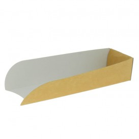 Porta Kraft Hot Dog 17x5x3,5cm (100 Pezzi)