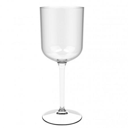 """Calice Riutilizzabili Vino """"Bio Based"""" Tritan Trasp. 420ml (6 Pezzi)"""