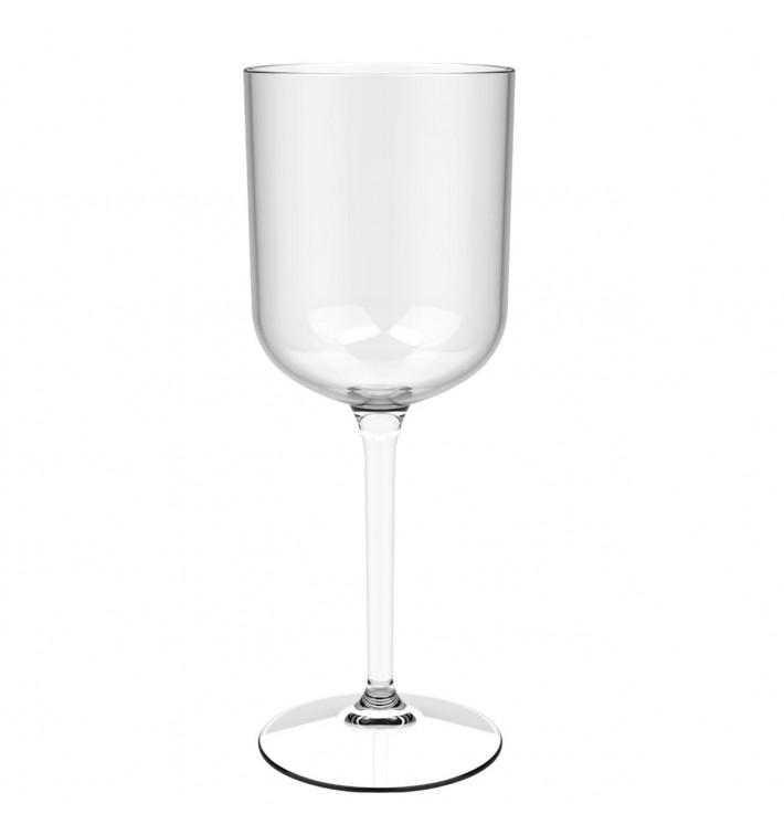 """Calice Riutilizzabili Vino """"Bio Based"""" Tritan 420ml (1 Pezzi)"""