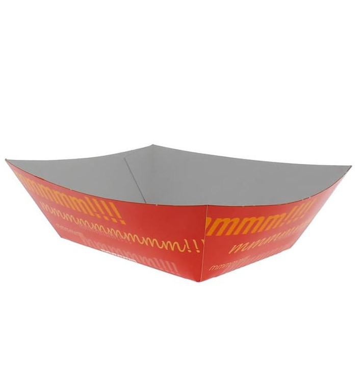 Vaschetta 525ml Carta 12,1x8,1x5,5cm (25 Pezzi)