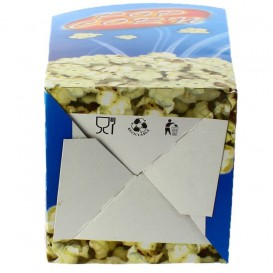 Scatola Pop Corn Grande 150 gr 8,7x13x20,3cm (250 Pezzi)
