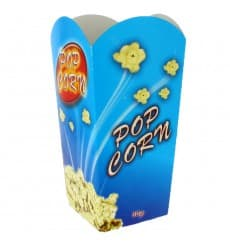 Scatola Pop Corn Mediano 90 gr 7,8x10,5x18cm (350 Pezzi)