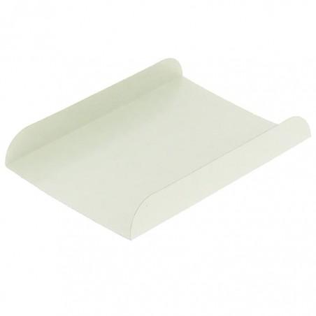 Vassoio di Carta Bianco per Gaufres 13,5x10cm (1500 Pezzi)
