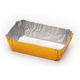 Pirottini Pasticceria Alluminio 50x30x16mm (100 Pezzi)