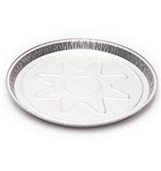 Teglia Torta Alluminio 250mm 790ml (150 Pezzi)
