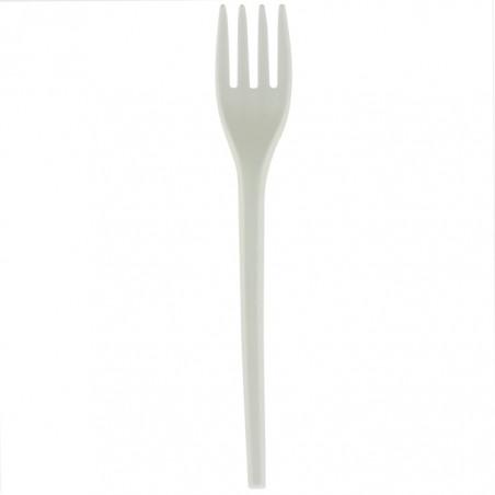 Forchetta Biodegradabile CPLA Bianco 165mm (1000 Pezzi)