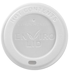 Coperchio PLA per Bicchiere di Carta 12, 16 i 22 Oz Ø9,0cm (1000 Pezzi)