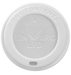 Coperchio PLA per Bicchiere di Carta 12, 16 i 22 Oz Ø9,0cm (100 Pezzi)