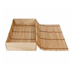 Contenitori di Bambu Sushi 23x13x4,5cm (1 Pezzi)