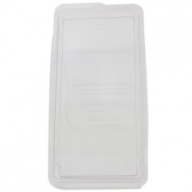 Scatola Sandwich PLA 16,5x11,0x7,5 cm (125 pezzi)