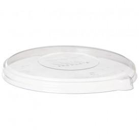 Coperchio Compostabile PLA Trasparente Ciotola 355,470ml (400 Pezzi)
