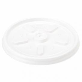 Coperchio PS per Bicchiere Termico Eps 4Oz/120ml Ø6,9cm (100 Pezzi)