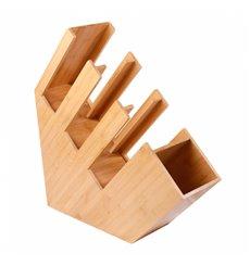 Organizzato Bicchiere, Cannucce e Coperchio di Bambù (2 Pezzo)