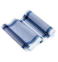 "Rotolo Panno ""Roll Drap"" Vinatge Blu 40x64cm P40cm (10 Pezzi)"