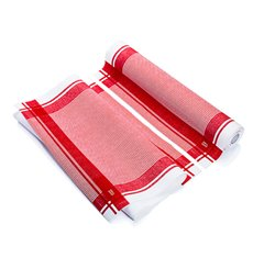 """Rotolo Panno """"Roll Drap"""" Vintage Rosso 40x64cm P40cm (200 Pezzi)"""