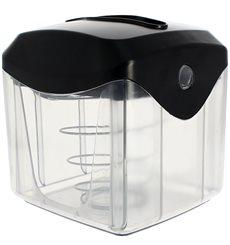Dispenser Tovaglioli ABS Nero 15,5x13,5x15,0cm (20 Pezzi)