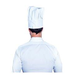Cappello Cuoco Chef Carta Bianco (1 Pezzi)