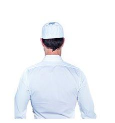 Cappello Cuoco Retina Cotone Bianco (1 Pezzi)