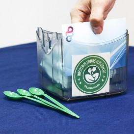 Dispenser Tovaglioli ABS Nero 15,5x13,5x15,0cm (1 Pezzi)