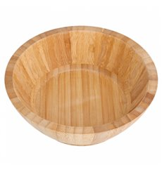 Citola in Bambù Ø17x6cm (20 Pezzi)