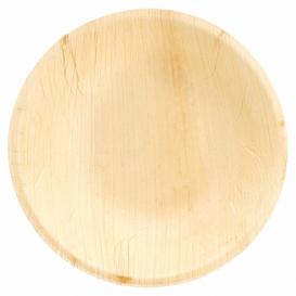 Ciotola in Foglia di Palma 18x3,5 cm (25 Pezzi)