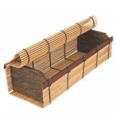 Contenitori di Bambu Sushi 23x8x6cm (24 Pezzi)