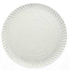 Piatto di Carta Tondo Bianco 160 mm (100 Pezzi)