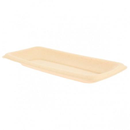 Vassoi Bio Canna da Zucchero 20x10cm (300 Pezzi)