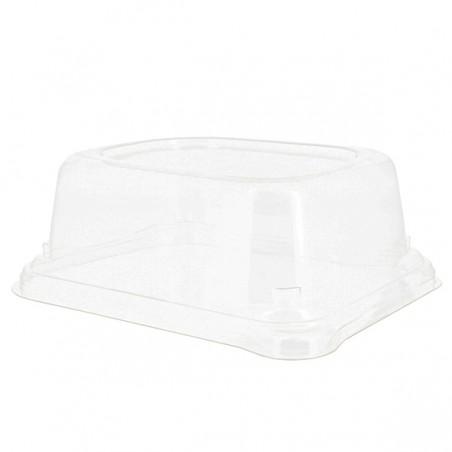 Coperchio Plastica Vassoi Canna da Zucchero 24x11cm (50 Pezzi)