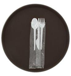 Set Posate Plastica Forchetta,Coltello,Cucchiaio (25 Pezzi)